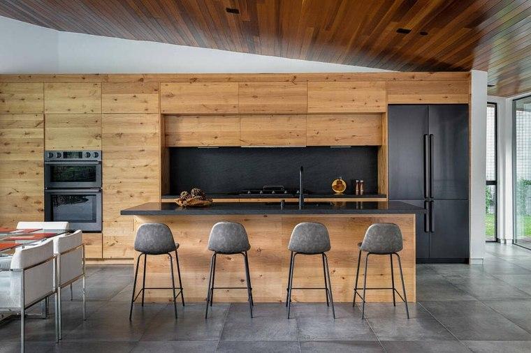 Cocina negra – 20 ideas de diseño y combinaciones temáticas en 2019