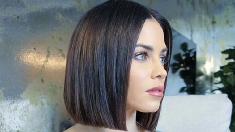peinados para media melena glassbob