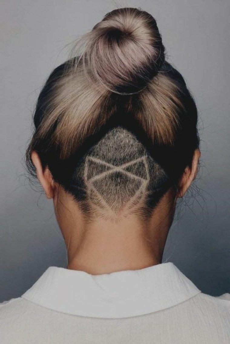 rapados dibujos geométricos