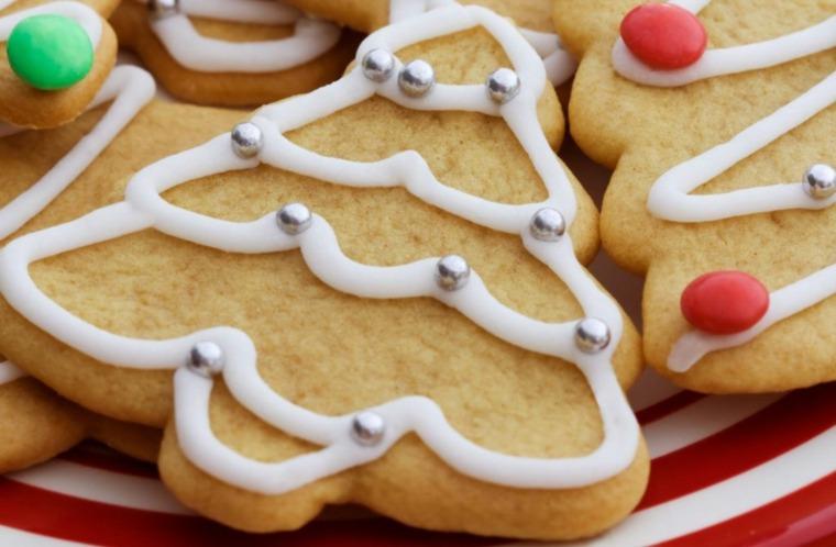 galletas y dulces de Navidad