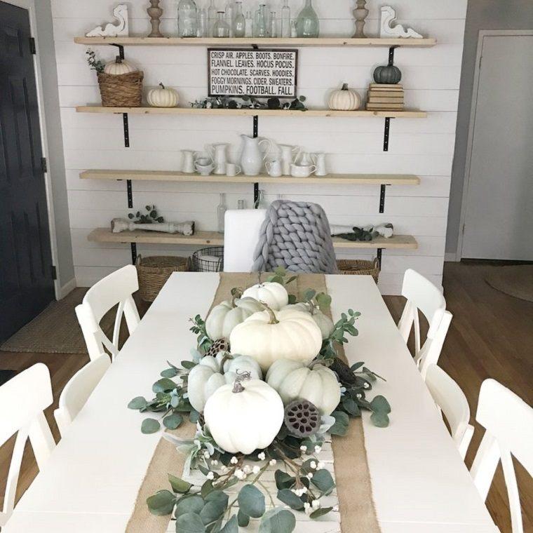 Decoracion de mesas con acento otoñal para celebraciones inolvidables