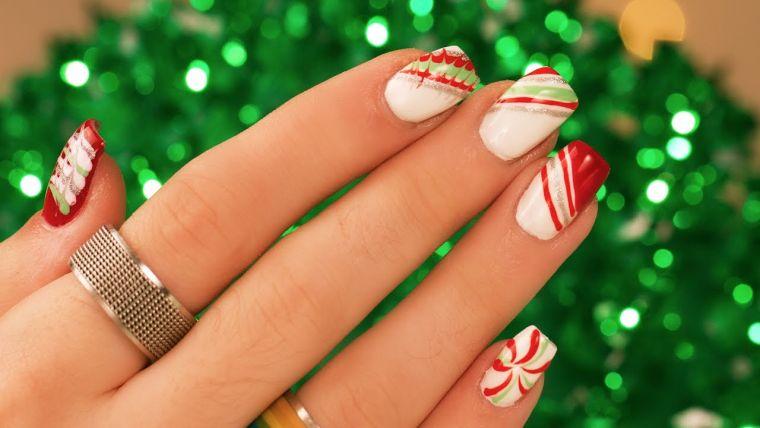Uñas Navideñas 2019 Hermosos Diseños Para Lucir Tus Uñas