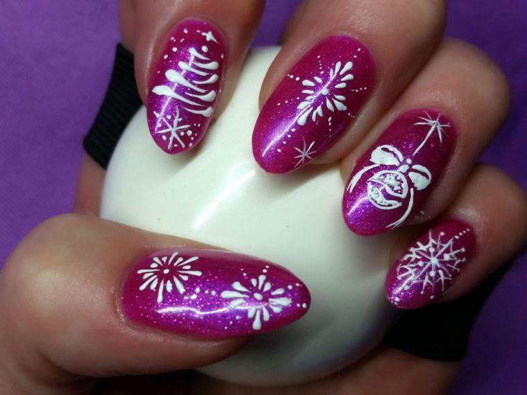 Uñas navideñas 2019 - Hermosos diseños para lucir tus uñas ...