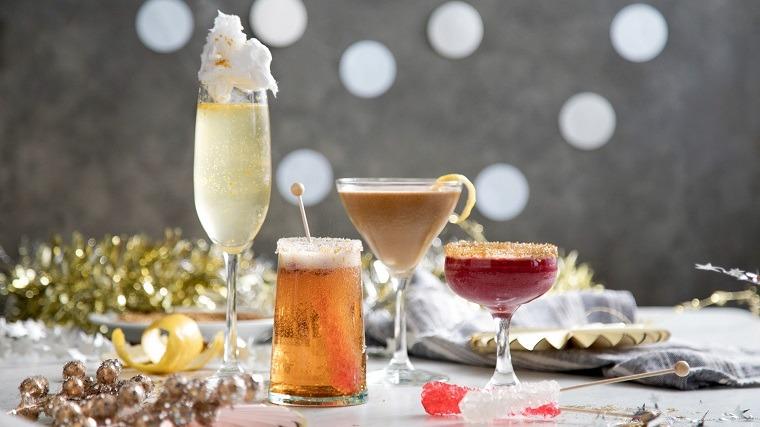 Bebidas alcohólicas-ano-nuevo-cocteles