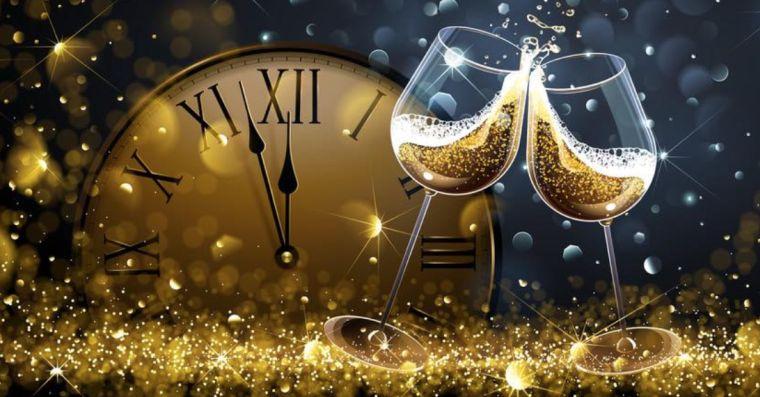año nuevo brindis