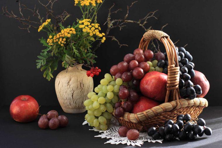 año nuevo frutas