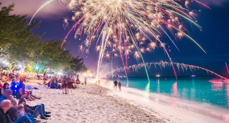 año nuevo playa