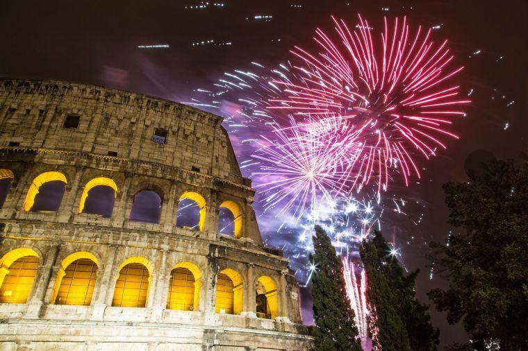año nuevo roma