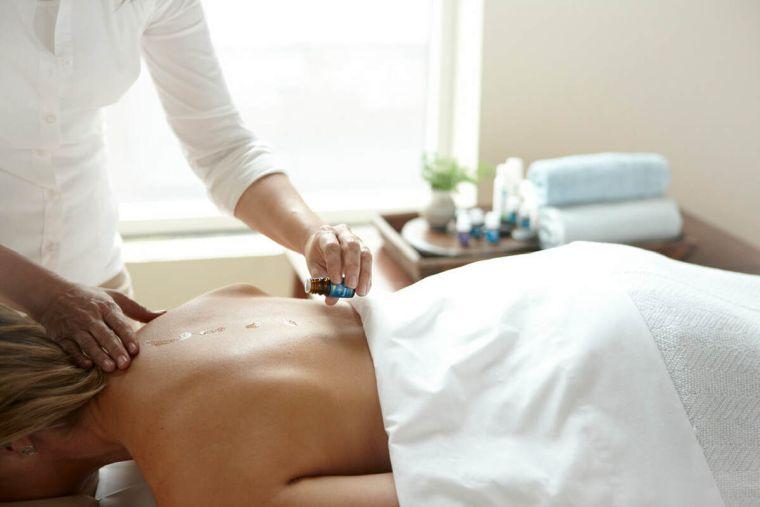 aceites esenciales masaje