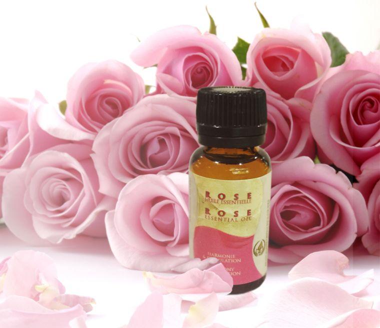 aceites esenciales rosa