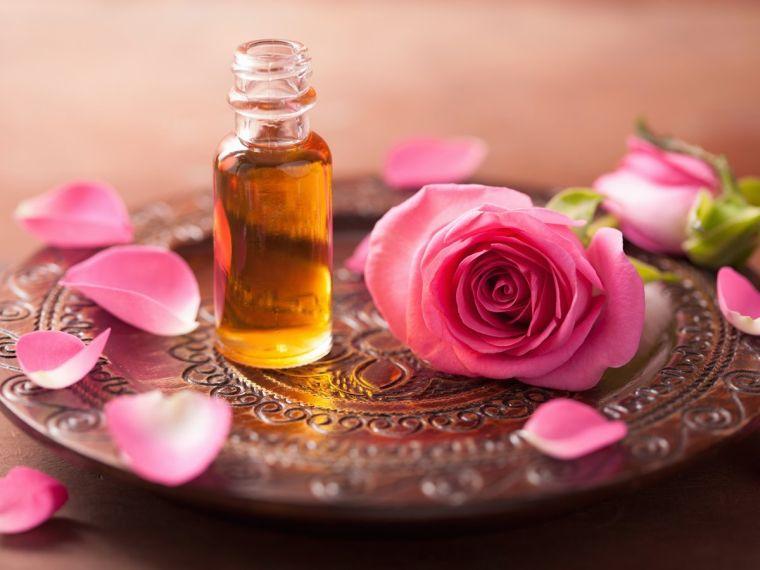 aceites esenciales rosas