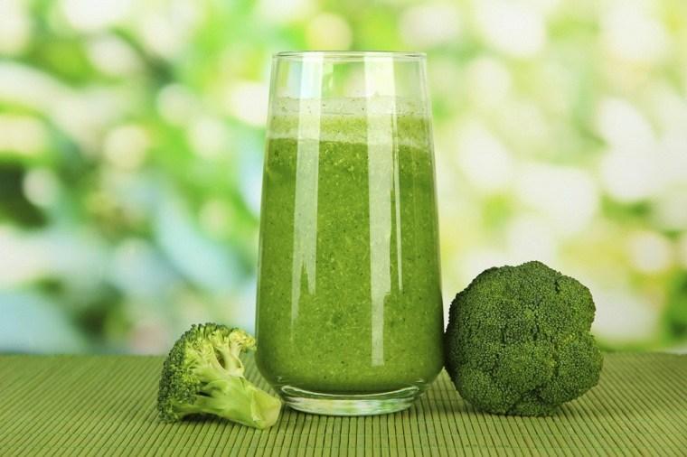 Batidos para perder peso-brocoli