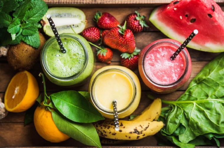 batidos para perder peso-desayuno-frutas