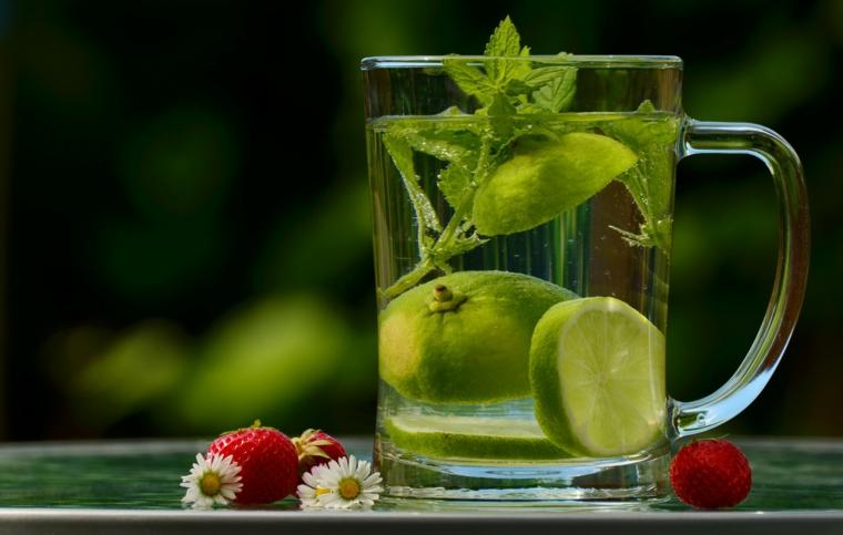 tés frutas