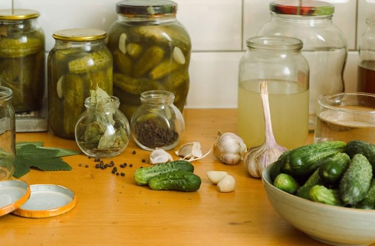 beneficios del pepino almacenado