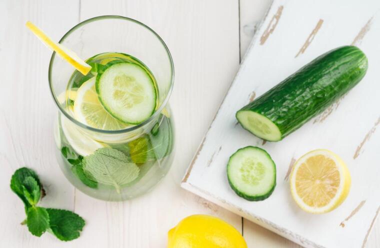 beneficios del pepino hidratante