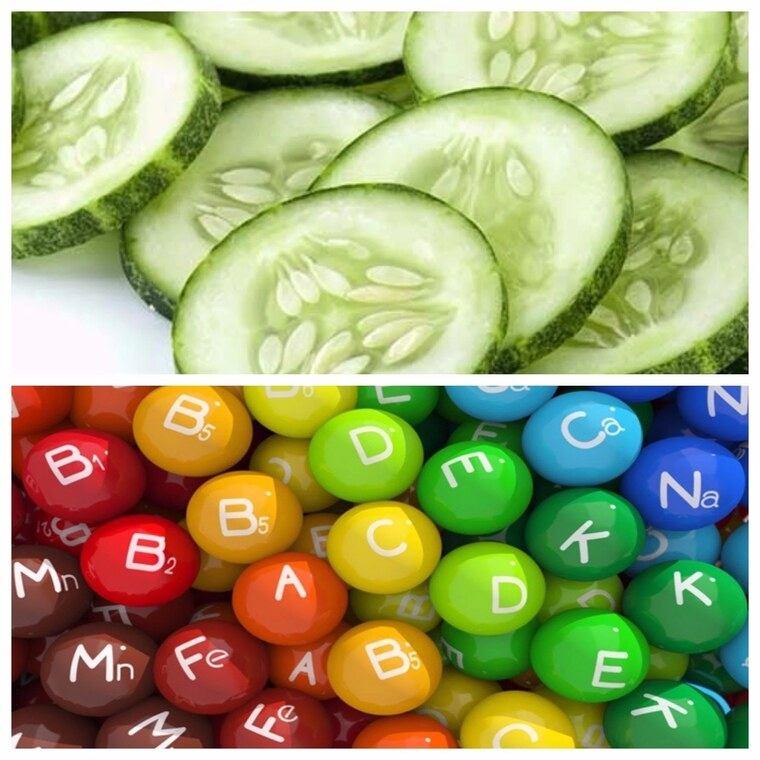 beneficios del pepino vitaminass
