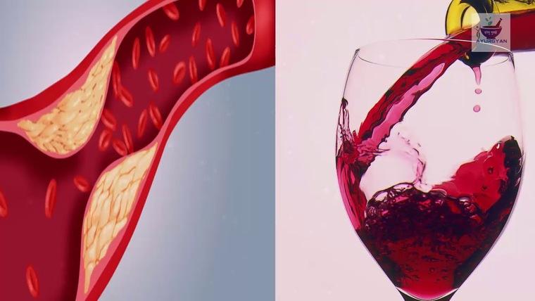 beneficios del vino tinto arterias