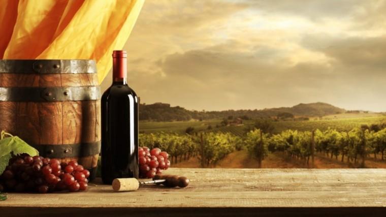 beneficios del vino tinto atardecer