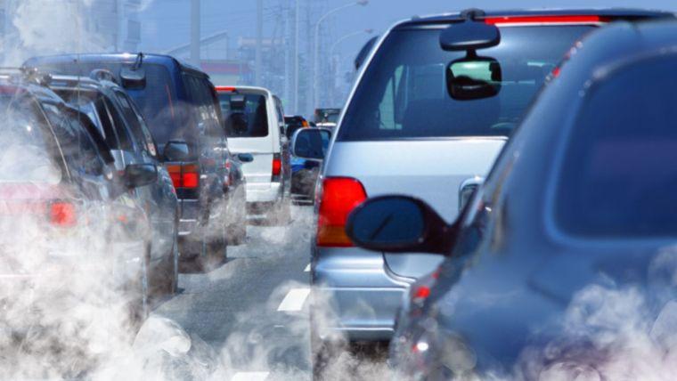 contaminación del aire autos