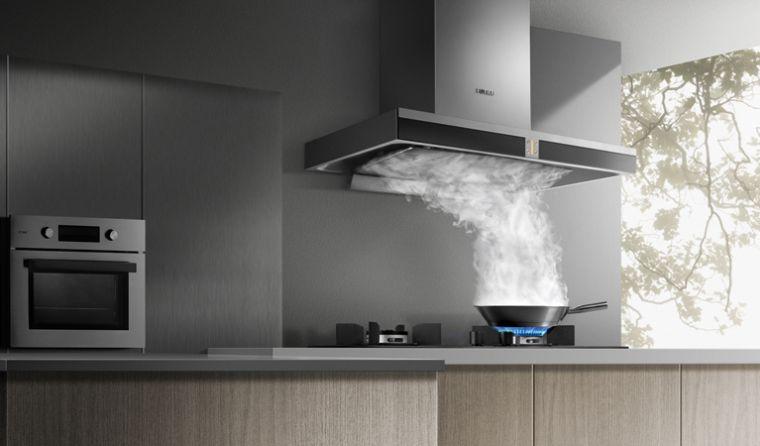 contaminación del aire cocina