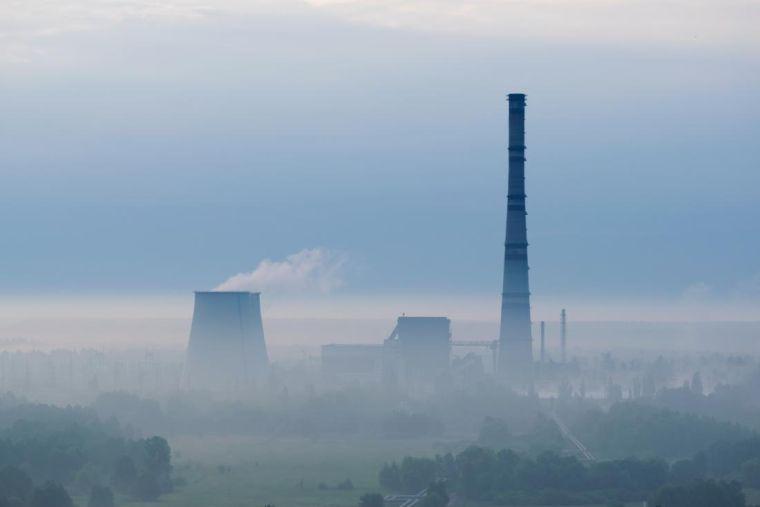 contaminación del aire dia