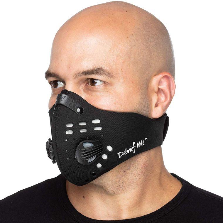 contaminación del aire mascara
