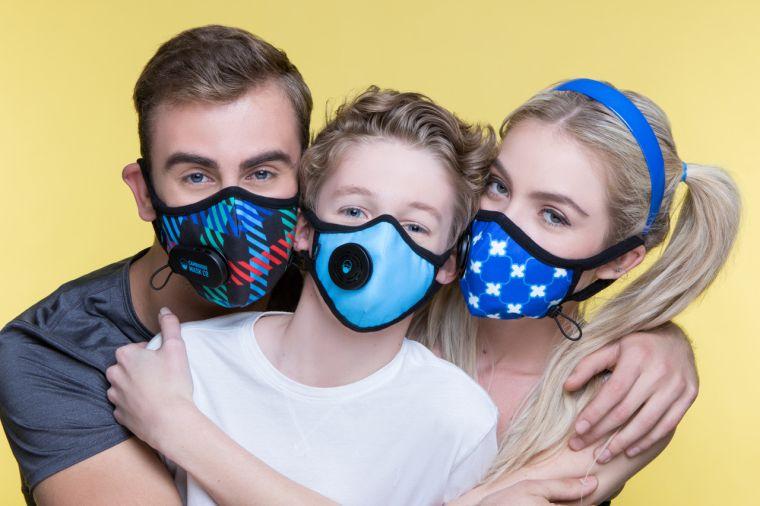 contaminación del aire mascaras