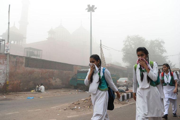 contaminación del aire proteccion