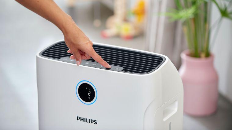contaminación del aire purificador