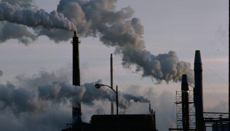 contaminación del aire sucio