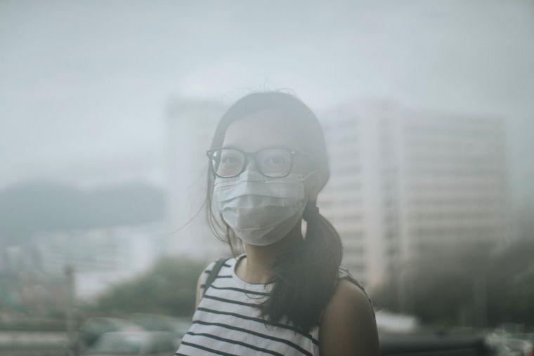 contaminiación del aire smog