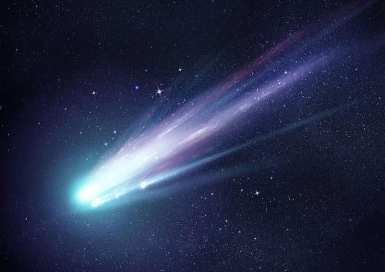 descubrimientos científicos cometa-espacio