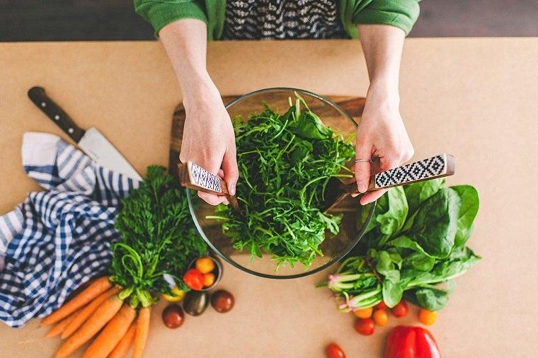 Dieta para la menopausia-recetas-ensaladas