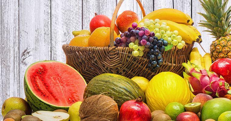 frutas y verduras canasta