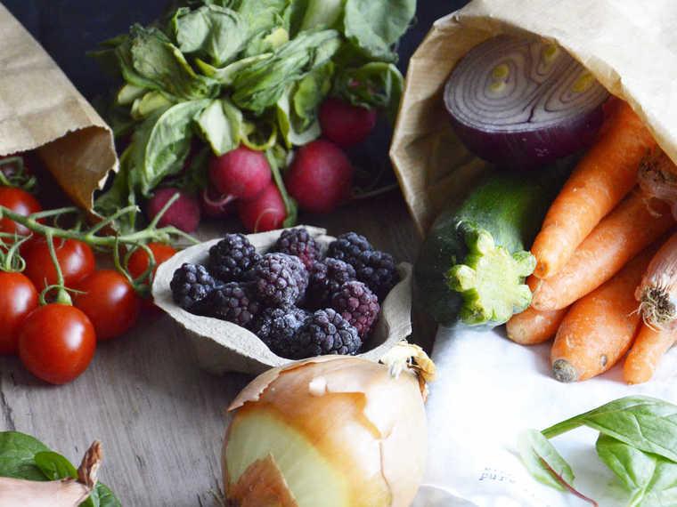 frutas y verduras combinacion
