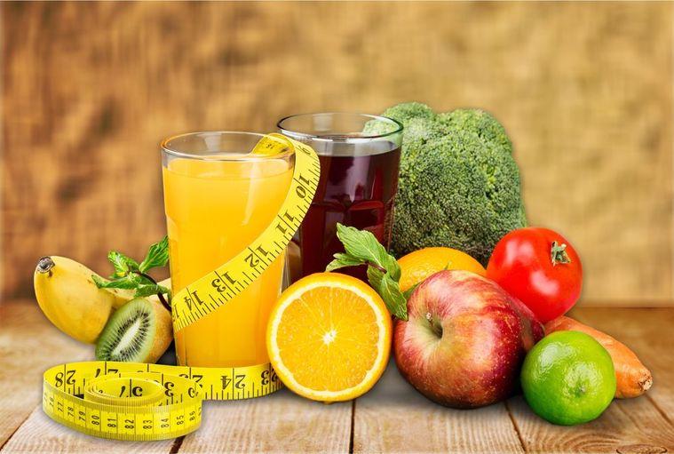 frutas y verduras jugos