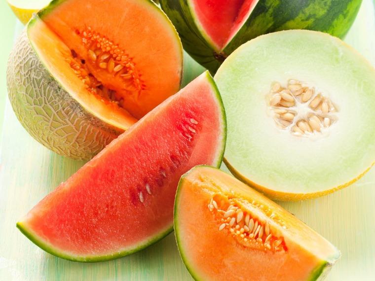frutas y verduras melon