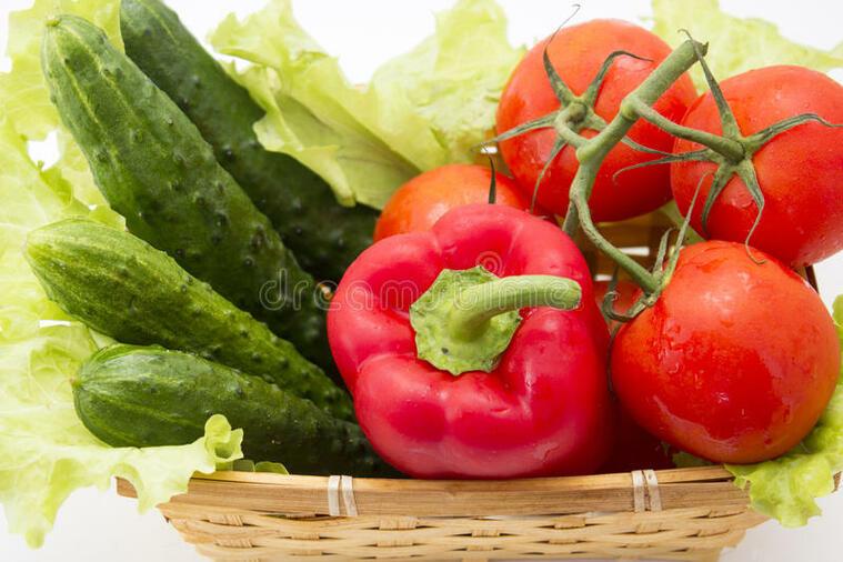 frutas y verduras pepino