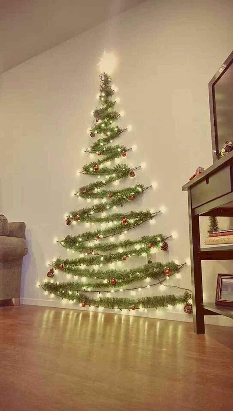 iluminación navideña arbol