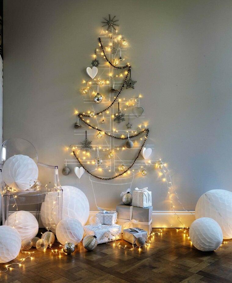 iluminación navideña diferente