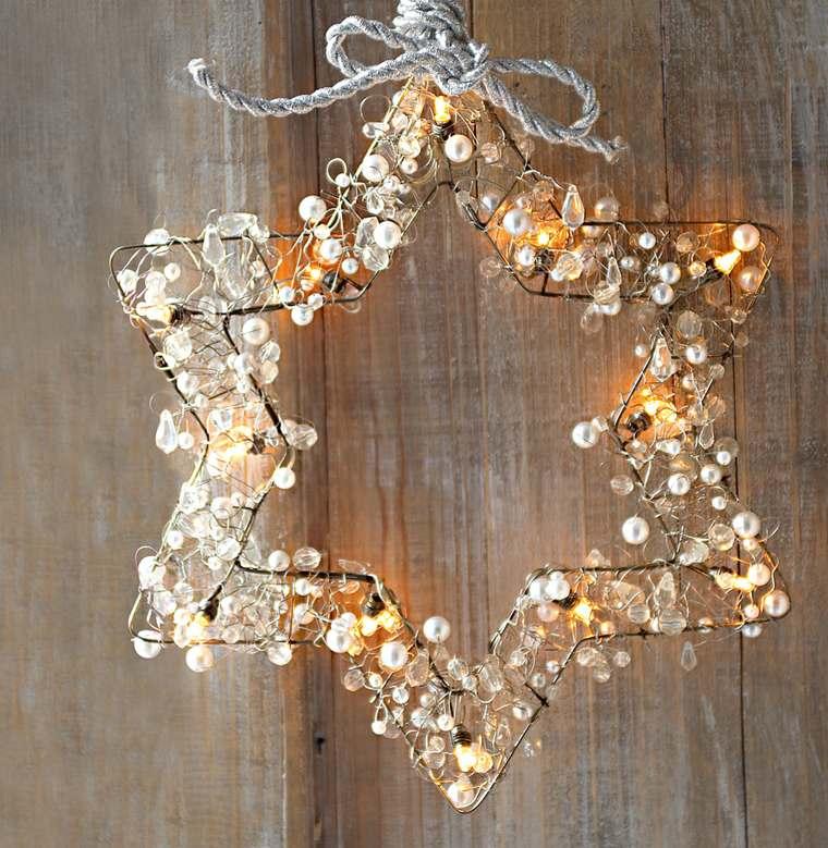 iluminación navideña estrella