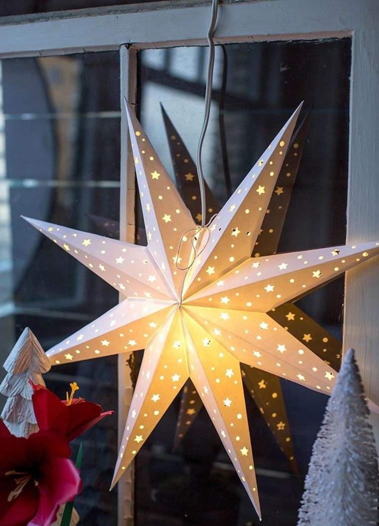 iluminación navideña estrellitas