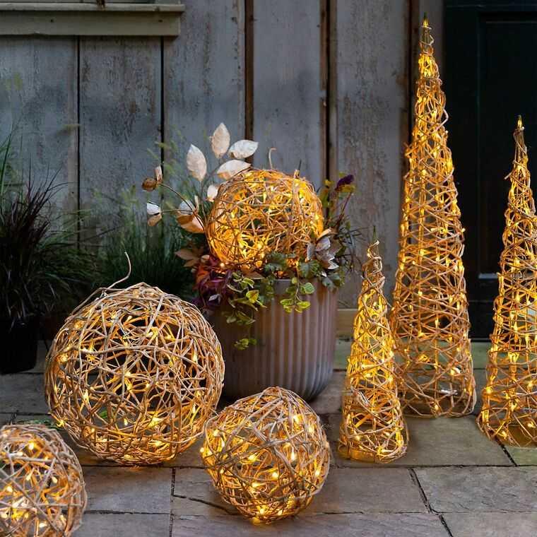 iluminación navideña figuras