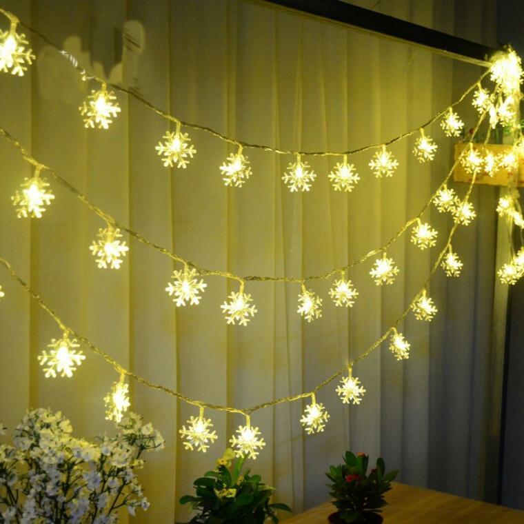 iluminación navideña guirnalda