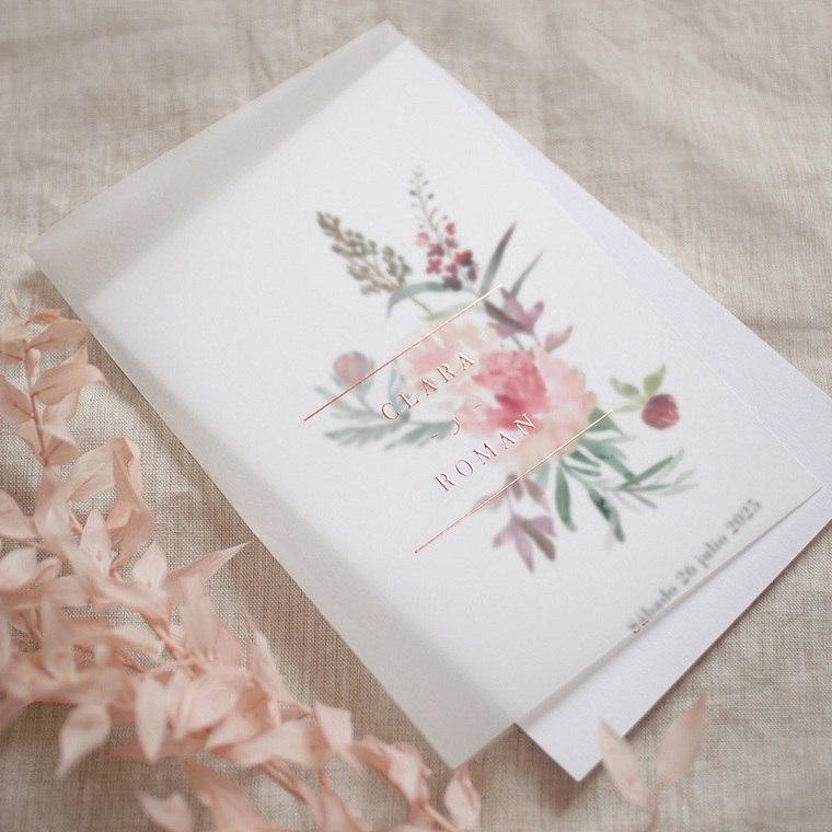 invitaciones-de-boda-originales-ramo-flores