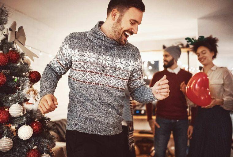 juegos de navidad baile