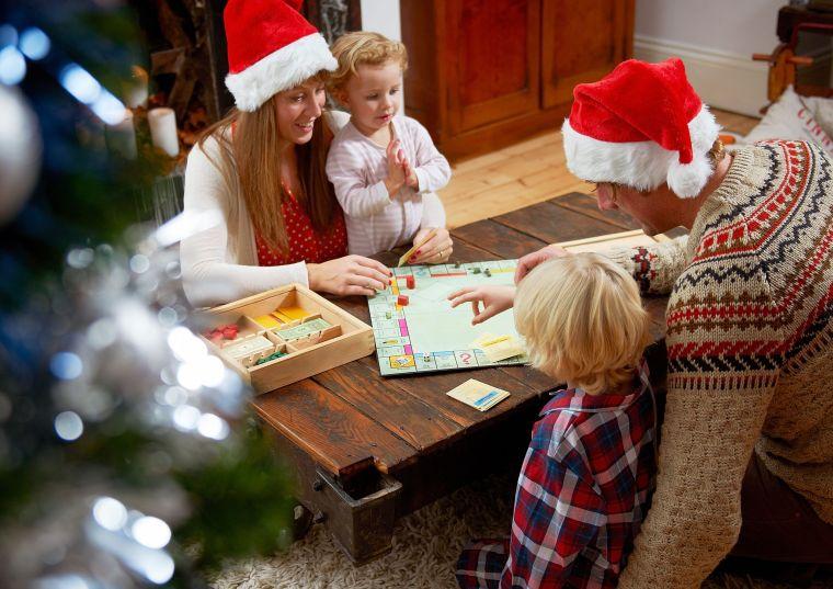 juegos de navidad familia