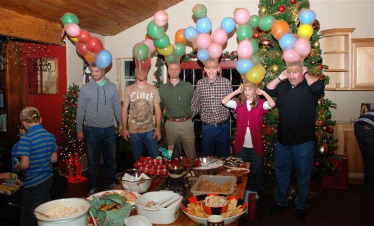 juegos de navidad globos