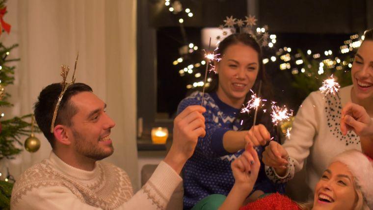 juegos de navidad luz